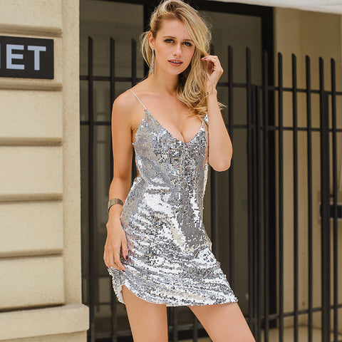 Silver Dresses for Women
