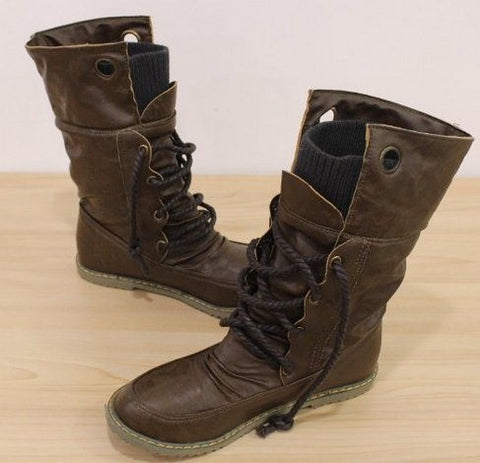 Motorcycle Martin Boots