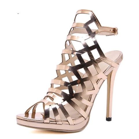 Open ToeThin Heels Gladiator