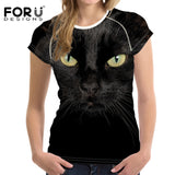 FORUDESIGNS 3D Printed Animal T-shirts  1