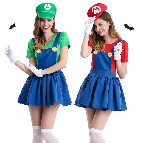 Halloween Super Mario Bros Halloween Costume  sc 1 st  Marks Urban Wear & Shop for Best Sellers at Marks Urban Wear® : 60u0027s 70u0027s halloween ...