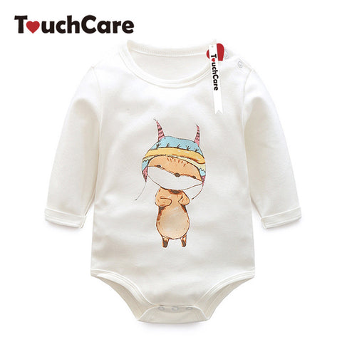 Infant Cute Cartoon Animal Printed Baby Clothing