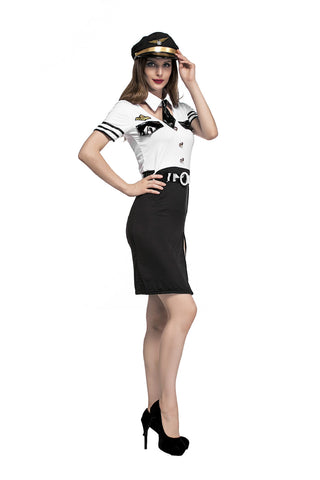 Flight Attendant Halloween Costume
