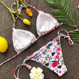 Floral Bikini Set Push-Up Padded