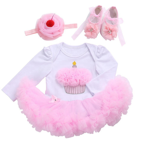 Shoe Headband Set,Toddler Girl Tutu Set Baby Clothing