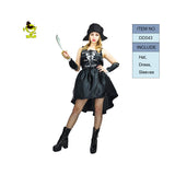 New Sexy Caribbean Spanish Pirate Costume Halloween