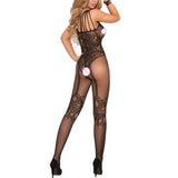 Crotchless Fishnet Sheer Body Dress Lingerie