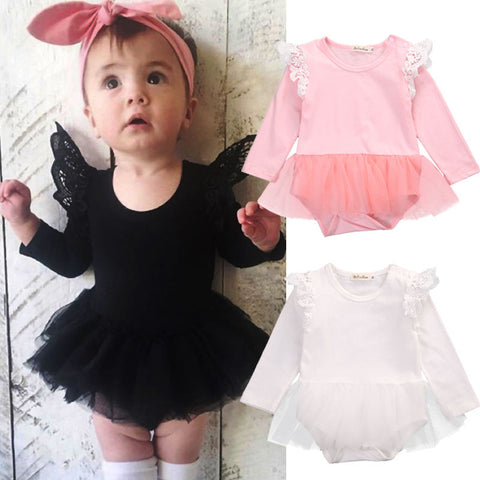 Toddler One-Piece Romper Tutu Baby Clothing