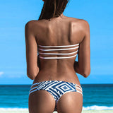 Sexy Swimsuit Bandeau Push Up Bikini Set Beach