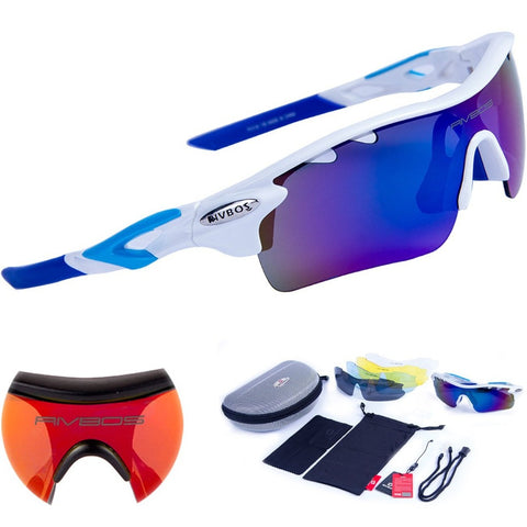 RIVBOS Oculos Ciclismo Cycling Tactical Bicycle Sunglasses
