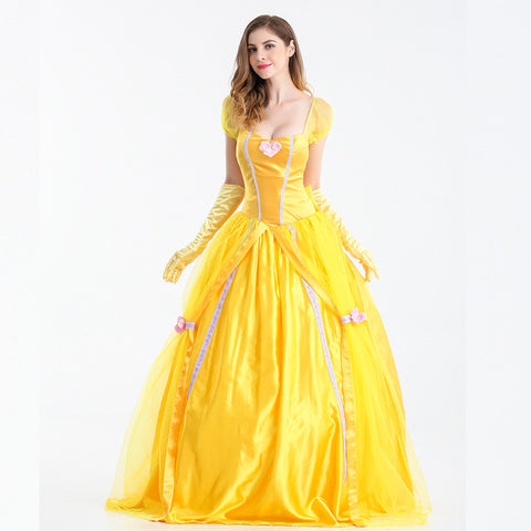 S-XXL  Beauty and the Beast Halloween Princess Belle
