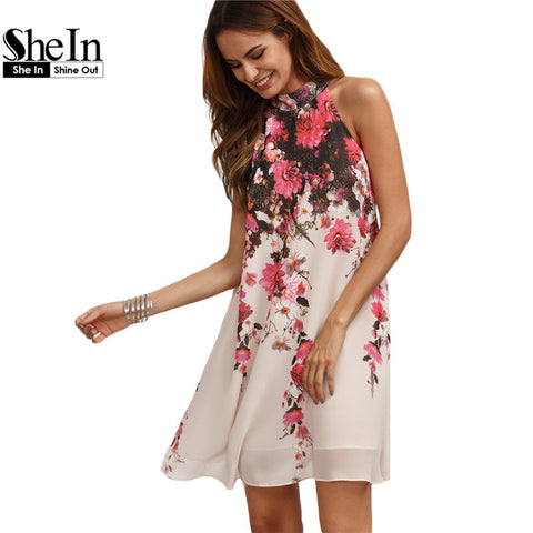 SheIn Summer Short Dresses Casual Womens New Arrival