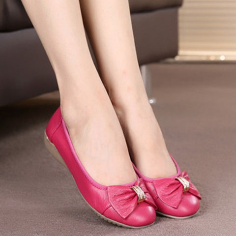 Spring new bow women fashion shoes