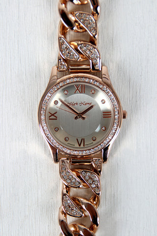 Rhinestone Chain Band Watch - Marks Urban Wear®