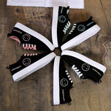 Canvas Shoes Lace Up Breathable