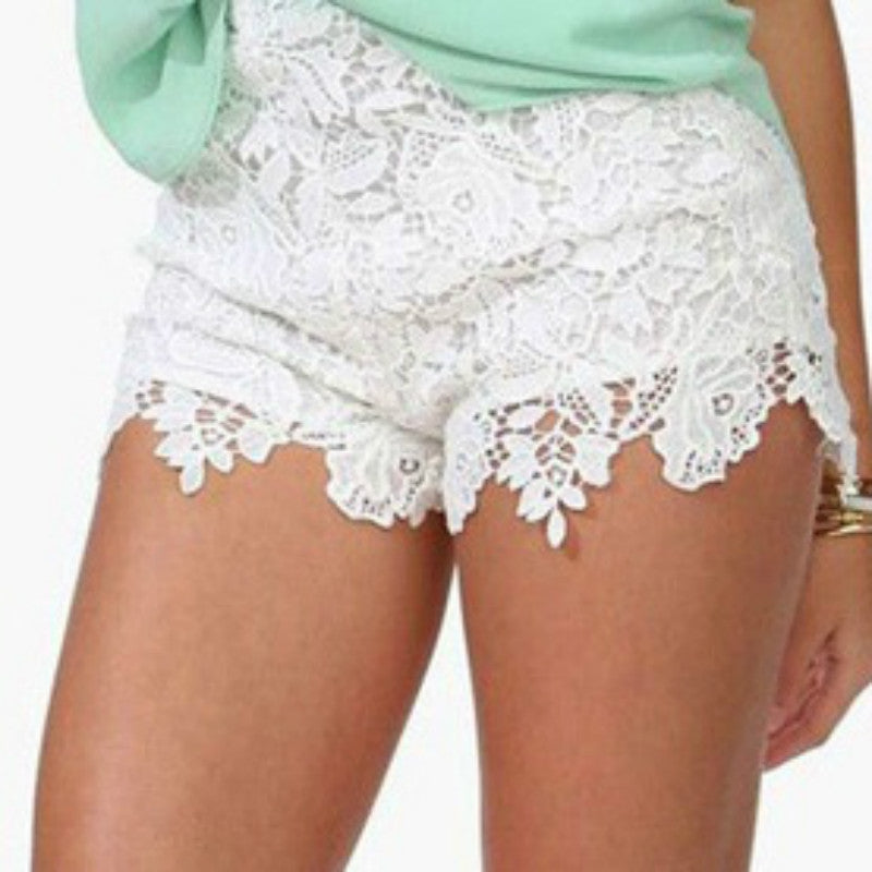 Buy Cute Korean Crochet Lace Shorts At Marks Urban Wear For Only 999