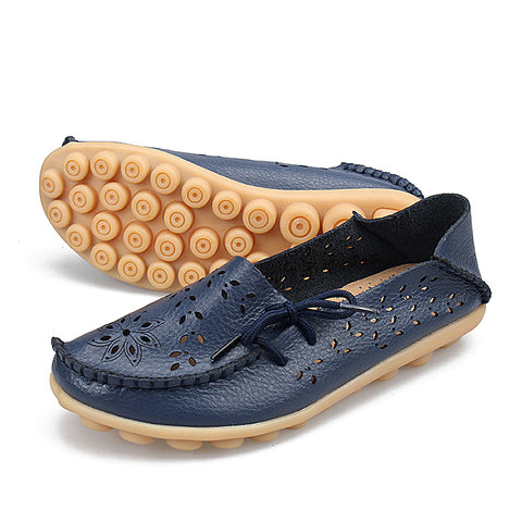 Soft Genuine Leather Flats