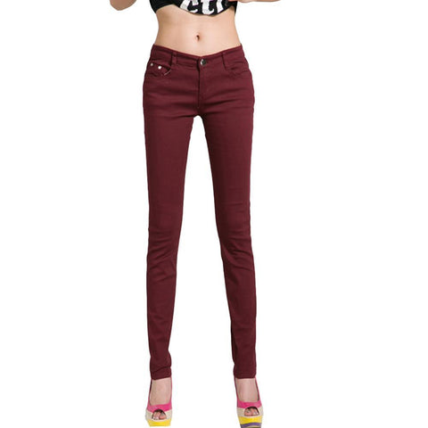 Pencil Pants Slim Casual