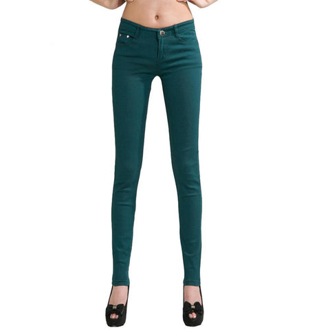 Pencil Slim Casual Pants