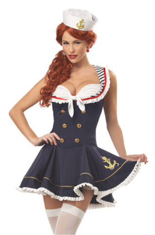 Sailor Pinup Girl Navy
