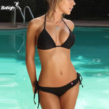 Sexy Swimming Suit Low Waist Bikini Set