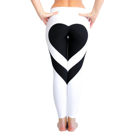 Women's Love Heart Leggings