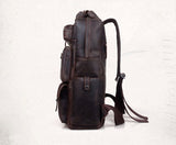 Traveling Leather  LEATHER BACKPACK - Mark's Urban Wear - 3