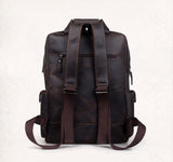 Traveling Leather  LEATHER BACKPACK - Mark's Urban Wear - 4