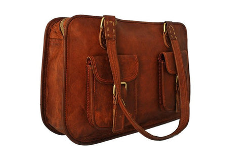Women's Leather LEATHER BUSINESS BAG FOR WOMEN - Mark's Urban Wear - 1