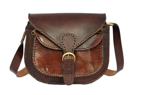 Women's Leather LEATHER WOMEN'S SADDLE BAG - Mark's Urban Wear - 1
