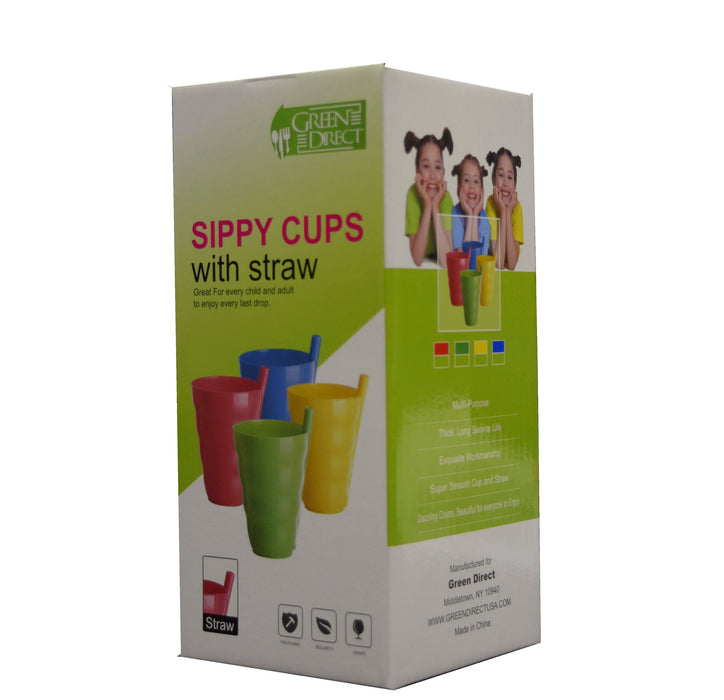 Sippy Cup with Built in Straw