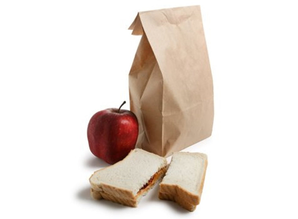Perfect Brown Durable Paper Lunch Bag for All Ages (Pack of 100)