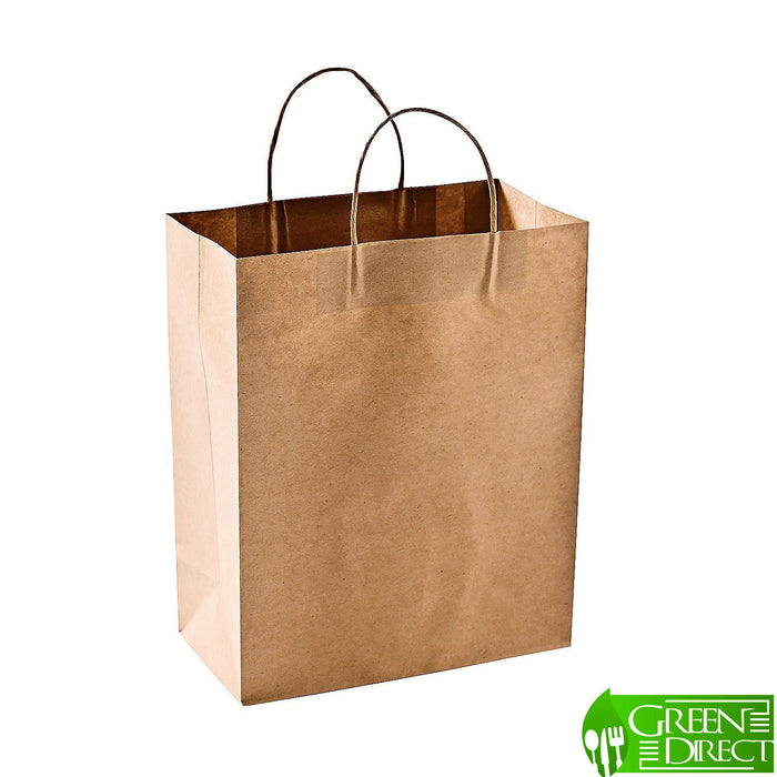 Reusable Brown Paper Shopping Bags