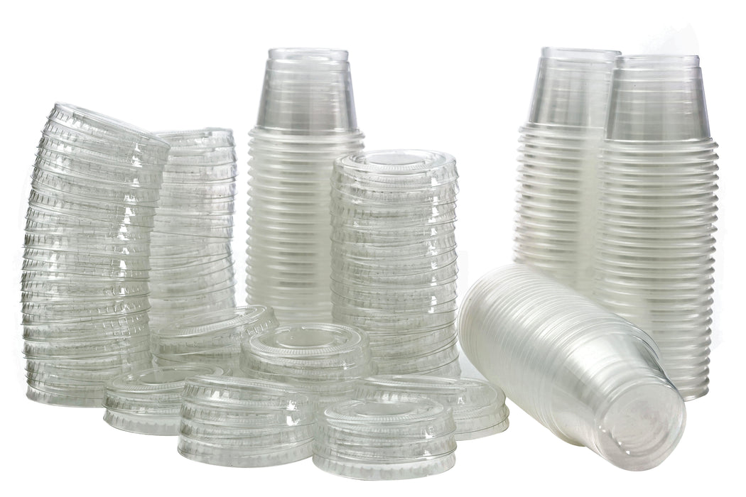Small Plastic Tumbler Cups with Lids