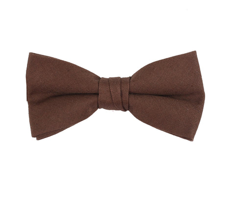 Solid Red Baby Kids Bow Tie