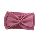 Girls Pink Bow Headband
