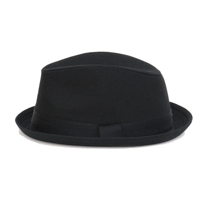 Copy of Black Fedora  Hat with Black Band
