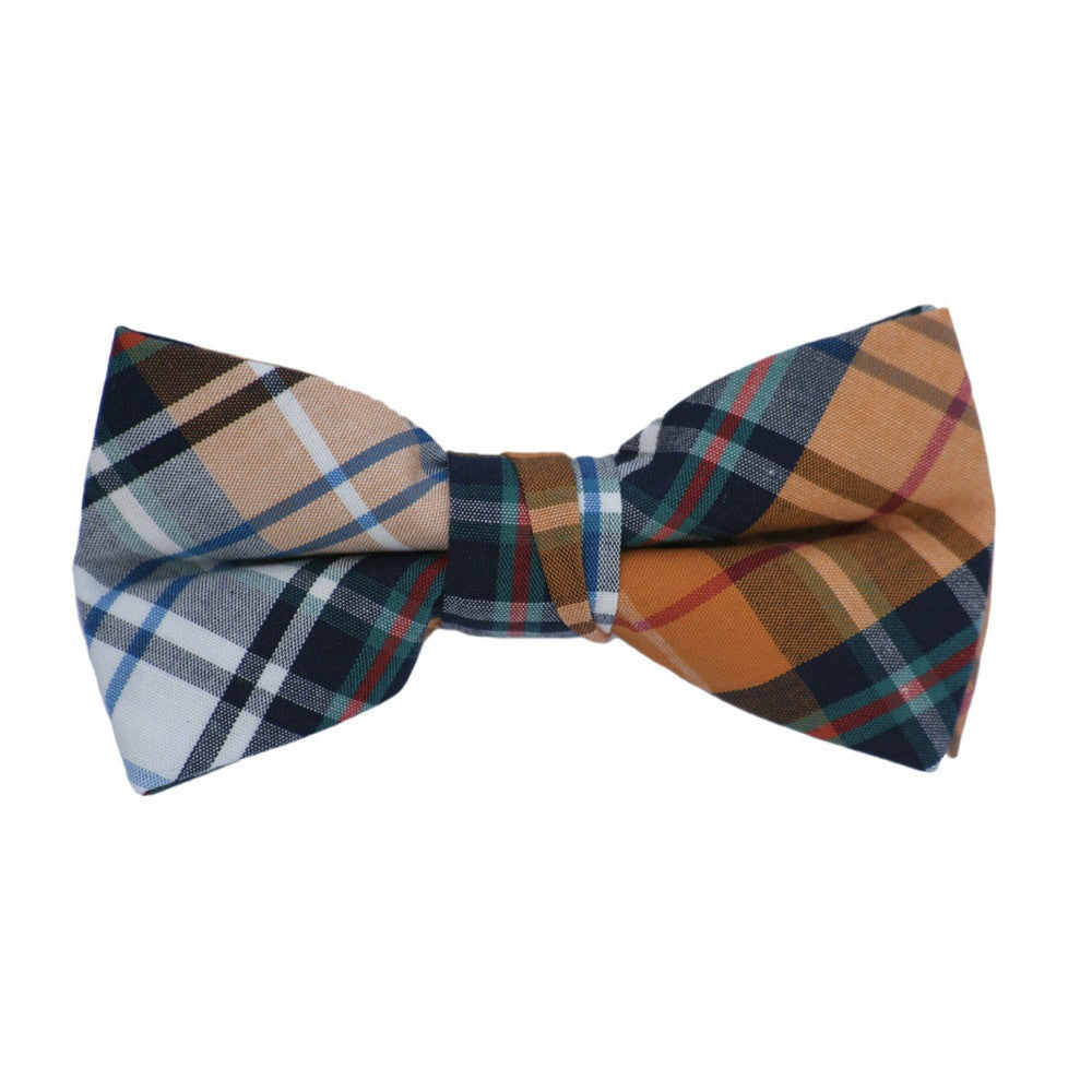 Plaid Patterns Bow Tie