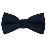 Toddler Solid Color Pre Tied Adjustable Bow Tie