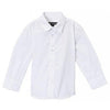 Wedding Baptism Birthday Boys White Button-Up Shirt