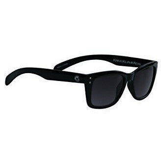 Knuckleheads - Boys Black Rims Sunglasses with Logo Pouch