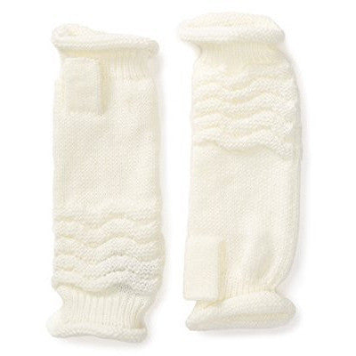 Girl Women Fingerless Gloves Mittens