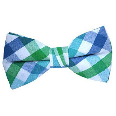 Toddler's Pre Tied Adjustable Patterned Bow Tie, Dots, Stripes, Checkered, Plaid