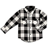Boy's Plaid Button Up Shirt