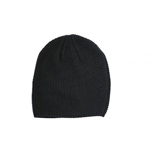 Black Slouchy Kids Cool Boys Beanie 3 Years - Up