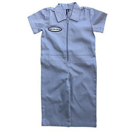 Boy Grease Monkey Birthday Coveralls Outfit by Knuckleheads