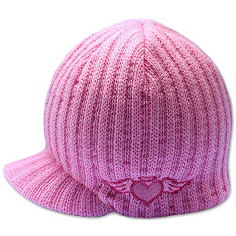 Girl's Baby Beanie Hat With Bow