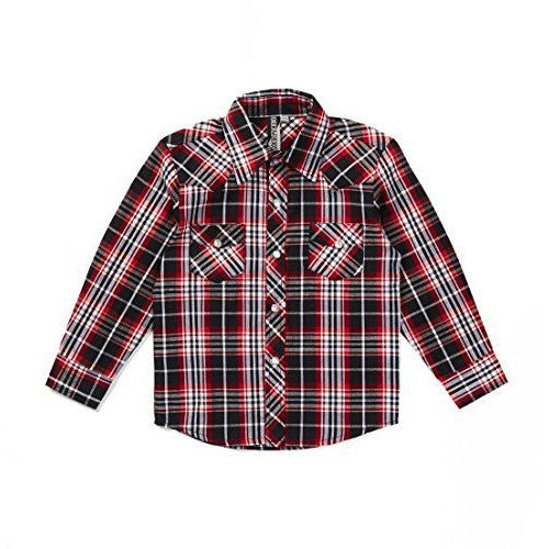 Knuckleheads Rockabilly Button Down Plaid shirts