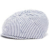 Boy's Navy and White Stripe Driver / Newsboy Caps