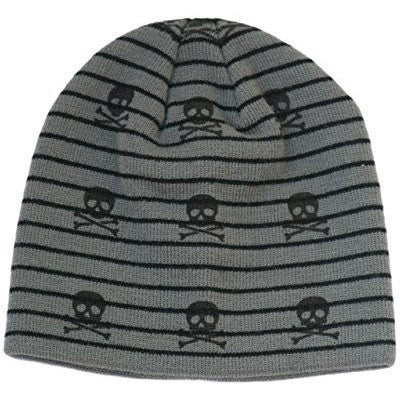 Grey Boy's Baby Visor Beanie with Tag Baby Hat